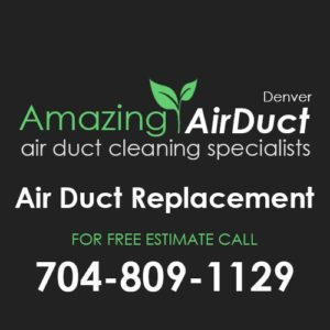Air Duct Replacement Denver NC
